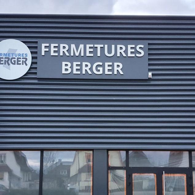 Enseignes Fermetures Berger 1
