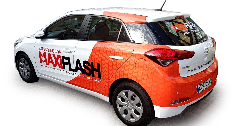 Marquage véhicule pour MaxiFlash