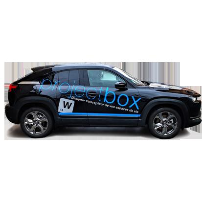 Marquage véhicule pour projectbox