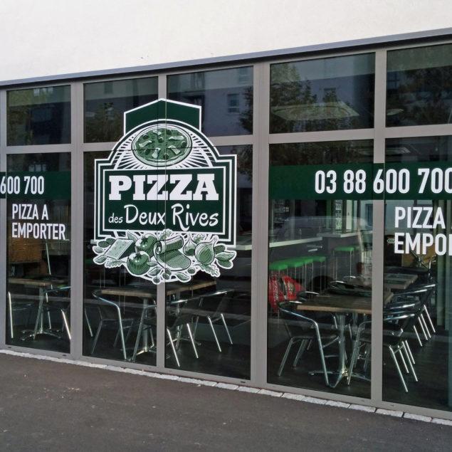 VITRINES PIZZA DES DEUX RIVES