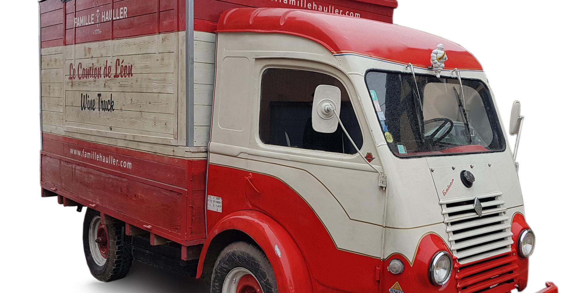 Marquage véhicule pour Famille Hauller